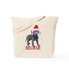 dane puppy christmas Tote Bag