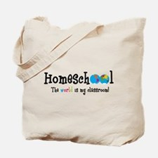 Funny Homeschool Tote Bag