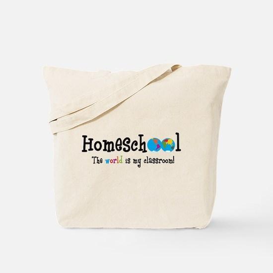 Cute Homeschool Tote Bag