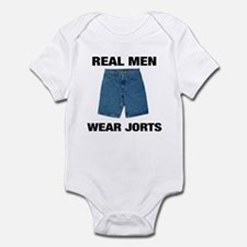 Real Men Wear Jorts Infant Bodysuit