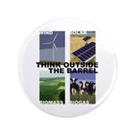 """Think Outside the Barrel 3.5"""" Button (100 pack)"""