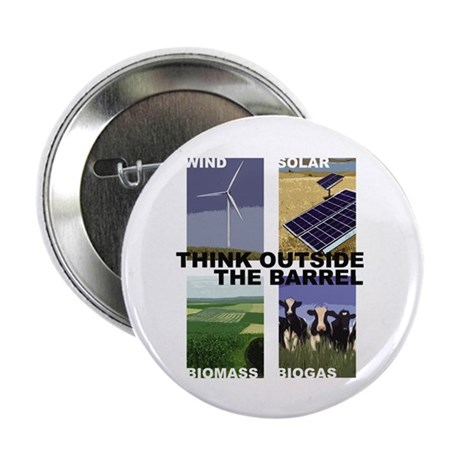 """Think Outside the Barrel 2.25"""" Button (10 pack)"""