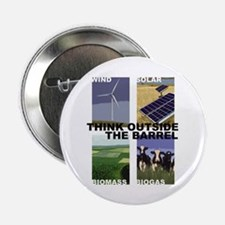 "Think Outside the Barrel 2.25"" Button"