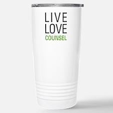 Live Love Counsel Travel Mug