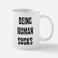 Being human sucks Mug