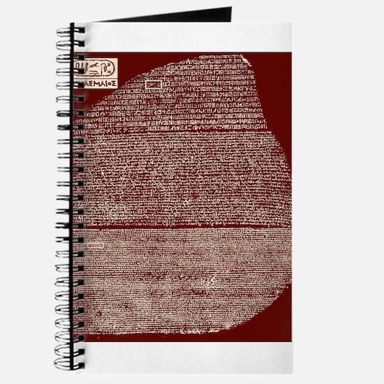 Funny Egyptian cat Journal