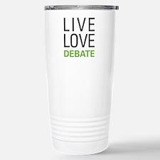Live Love Debate Travel Mug