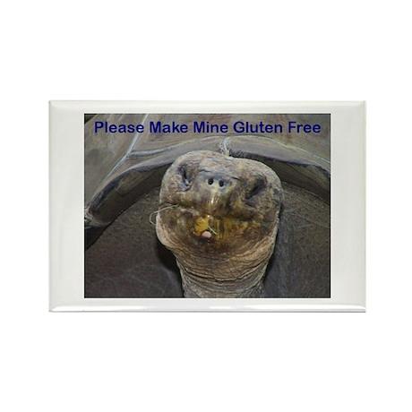 Please Make Mine Gluten Free Rectangle Magnet