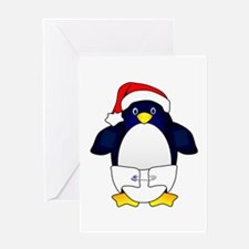 Penguin Baby Greeting Card