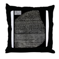 Cute Rosetta stone Throw Pillow