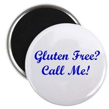 Gluten Free? Call Me! Magnet
