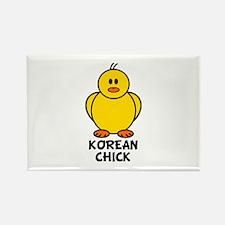 Korean Chick Rectangle Magnet (10 pack)