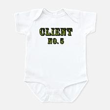 Client No. 5 Infant Bodysuit