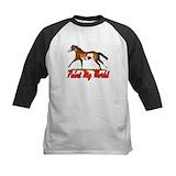 Barrel racing horse Baseball Jersey