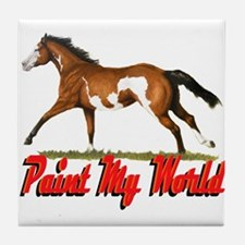Paint My World 3 Tile Coaster
