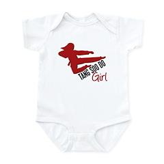 Tang Soo Do Girl Infant Bodysuit