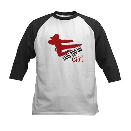 Tang Soo Do Girl Kids Baseball Jersey
