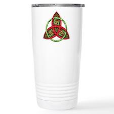 Celtic Holiday Knot Travel Mug