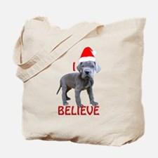 dane puppy christmas Tote Bag