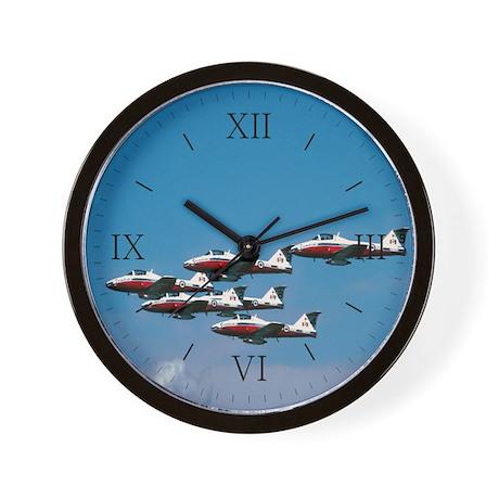 Snowbirds Jumble Wall Clock
