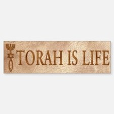 Torah is Life (seal) Bumper Bumper Bumper Sticker