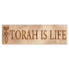 Torah is Life (seal) Bumper Bumper Sticker