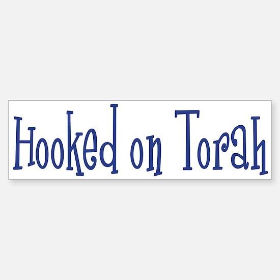 Hooked on Torah Bumper Bumper Bumper Sticker
