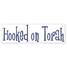 Hooked on Torah Bumper Bumper Sticker