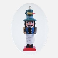 Doktor Nutcracker Holiday Oval Ornament