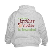 brother or sister christmas shirt Hoodie