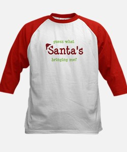 brother or sister christmas shirt Kids Baseball Je