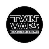 Twin button Single