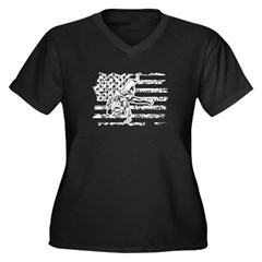 Maria's Bit O burr Women's V-Neck T-Shirt