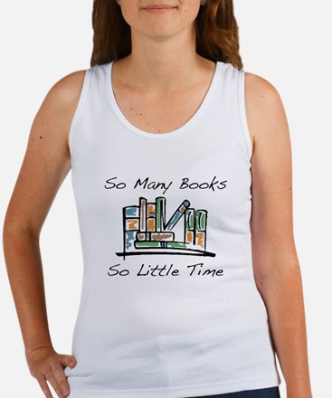 So Many Books Women's Tank Top