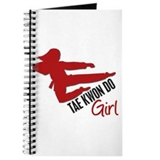 Tae Kwon Do Girl Journal