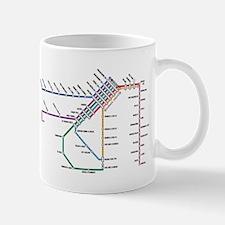 SF MUNI Map Mug