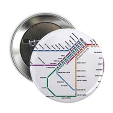 "SF MUNI Map 2.25"" Button"