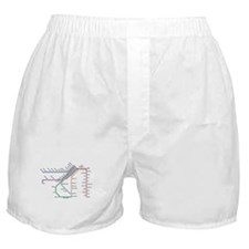SF MUNI Map Boxer Shorts