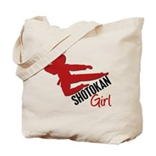 Shotokan Girl Tote Bag