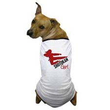 Shotokan Girl Dog T-Shirt