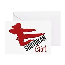 Shotokan Girl Greeting Cards (Pk of 10)