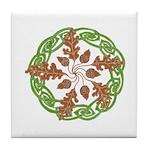 Oak 'n Acorns Tile Coaster