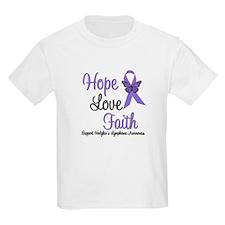 Hodgkin's HopeLoveFaith T-Shirt