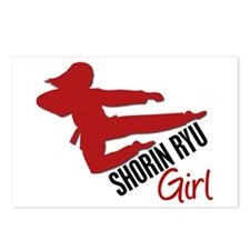 Shorin Ryu Girl Postcards (Package of 8)