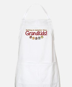 NOTHING IS SWEETER THAN GRANDKIDS BBQ Apron