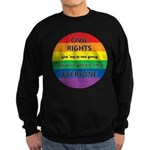 CIVIL RIGHTS EVERYONE Sweatshirt (dark)