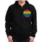CIVIL RIGHTS EVERYONE Zip Hoodie (dark)