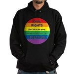 CIVIL RIGHTS EVERYONE Hoodie (dark)
