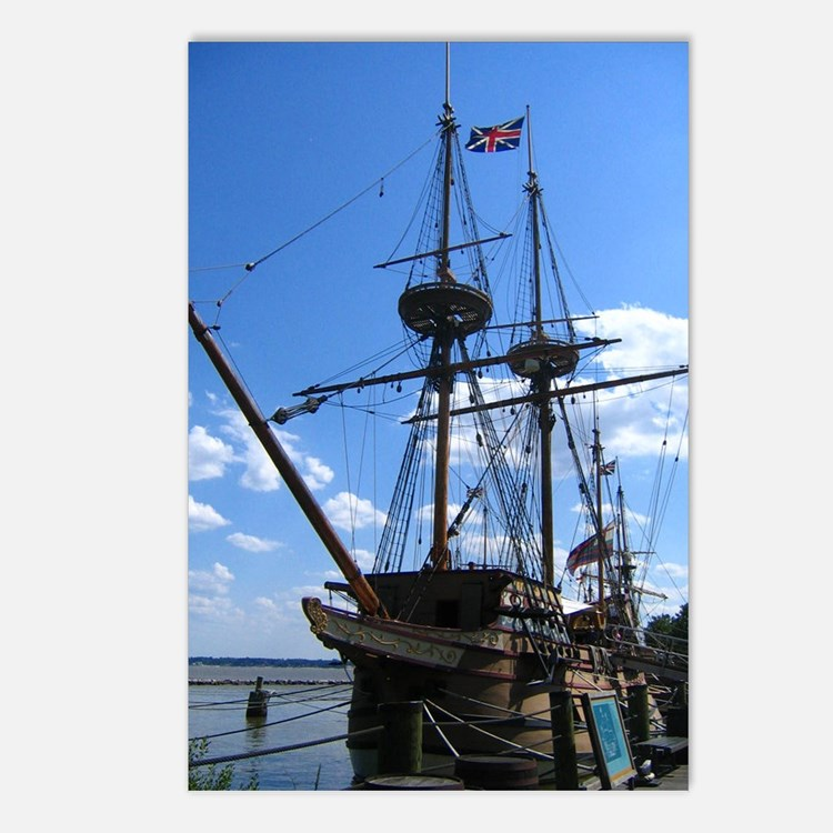 Jamestown, Virginia Postcards (Package of 8)