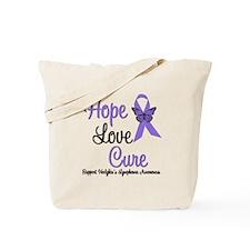 Hodgkins HopeLoveCure Tote Bag